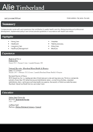 Best Resume Formats For Experienced Examples On The Web Nursing Samples