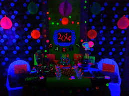 Neon New Years New Year s Party Ideas 1 of 93