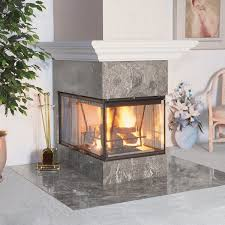 3 Sided Wood Fireplace Insert Fireplace Design Ideas