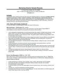 Marketing Manager Resume Sample Brand Director Examples Senior