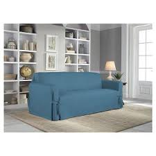 blue slipcovers futon covers target