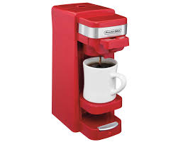 Single Serve Coffee Maker Red 49977