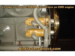 ingersoll rand air starter motor 150bmge21rh 6 vane air starter by ingersoll rand