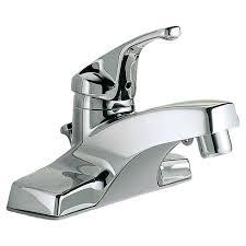colony single handle 4 inch centerset bathroom faucet american