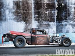 100 Rat Rod Semi Truck 1936 International And 1958 Dodge Fusion Mashup In Metal Hot