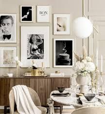 ikonische esszimmer wanddekoration küchenbilder goldrahmen