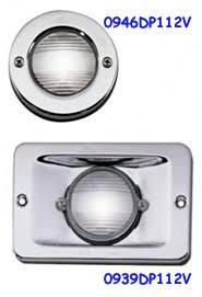 perko lights flush mount incandescent nav lights