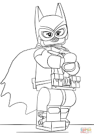 Batgirl Coloring Pages Lego Page Free Printable Images