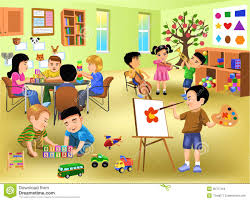 Classroom Clipart Kids Playing In Class Collection