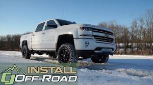 100 How To Install A Lift Kit On A Truck Silverado Fabtech 6 SilveradoSierra 1500 20142018