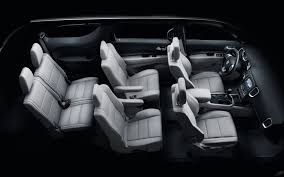 2013 Toyota Highlander Captains Chairs by Dodge Durango Adds Second Row Captain U0027s Chairs As Option For 2012