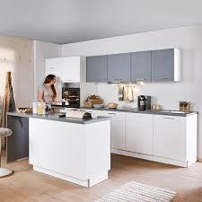 inselküche win 011 inkl e geräte 360 180 cm express küchen weiss hg stahl dunkel
