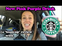 The New Pink Purple Drink From Starbucks