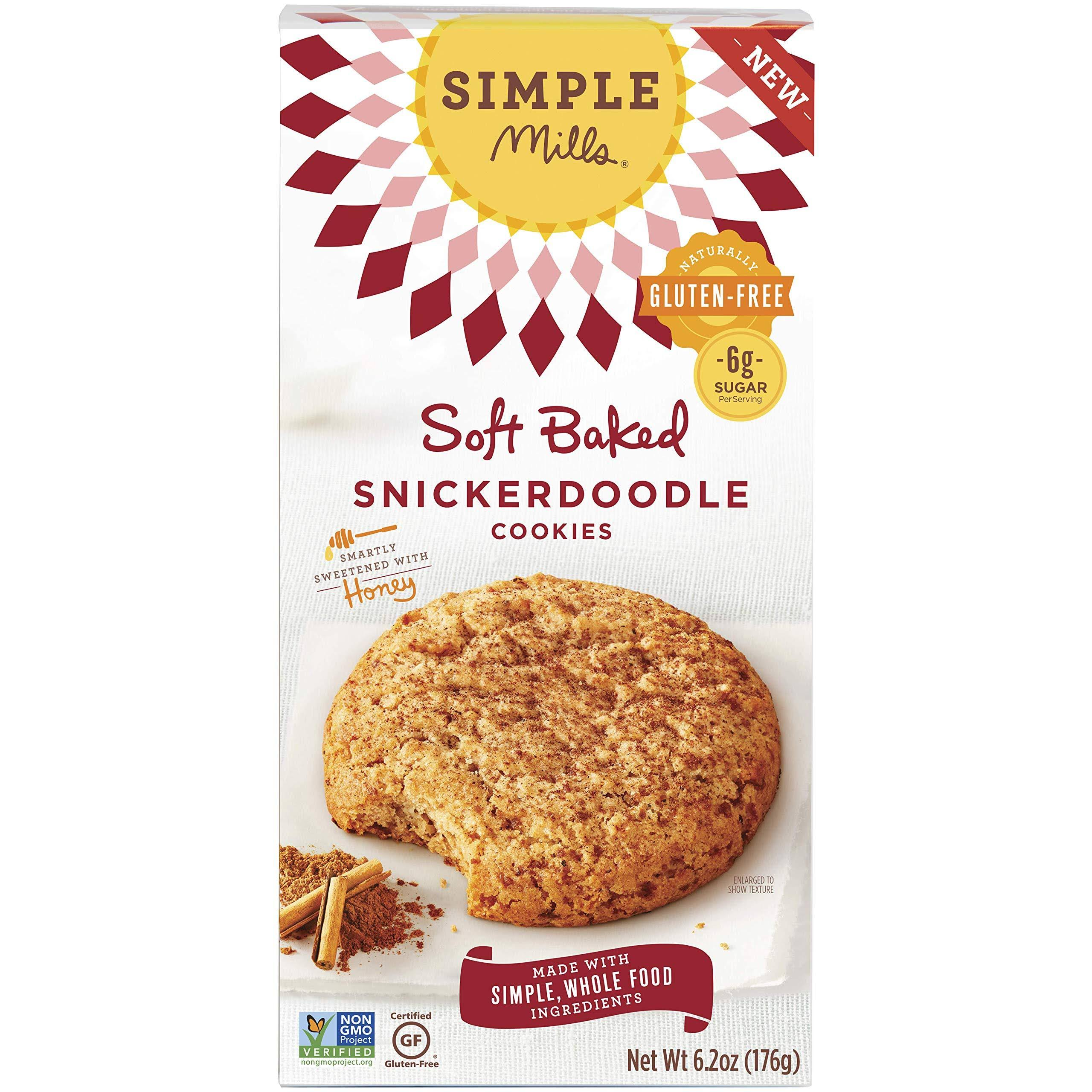 Simple Mills Snickerdoodle Cookies, Honey, Soft Baked - 6.2 oz