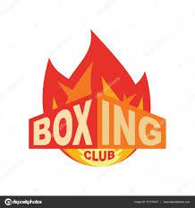 de club de boxe logo de la salle de signe de sport image