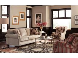 Craftmaster Sofa With Cognac Legs In Tolliver by Craftmaster Sofa In Emotion Beige Centerfieldbar Com