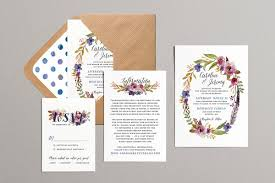 This invitation suite is so gorgeous