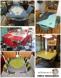 Vintage Kitchen Table Set For Sale Beautiful Dinette Sets Retro Renovation