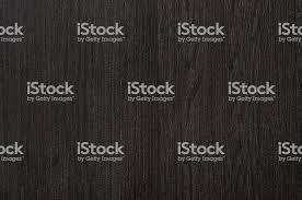 Seamless Black Wood Texture Dark Grain Background Stock Photo