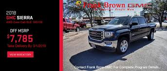 100 Used Trucks For Sale In Amarillo Tx Frank Brown GMC In Lubbock Midland Odessa GMC Source