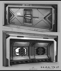 Halo Bed Rail by Concept Art Halo 2 Anniversary Doors Iuliia Misiul On