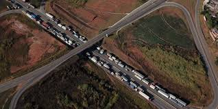 Brazil Truckers' Strike Exposes Political Chaos As Elections Near Truck Strike Striking Truckers Cause Traffic Jam Editorial Stock Truck Drivers Strike Exposes Brazils Logistics Vulnerability Port Truck Launch Definite At Ports Of Los Angeles Truckers Four Shipping Companies Southern California The Regis Bittencourt Road In Sao Paulo Sainsburys Again General Se23 Forum Forest Hill Goods Lorry Latest And Breaking News On To Shut Down America Plans 3day National Trucking Strike Ipdent Drivers Are Ready To Likely Ground Secondquarter Brazil Growth Near Star Weekly Another Strikes Notorious Napier Street Bridge