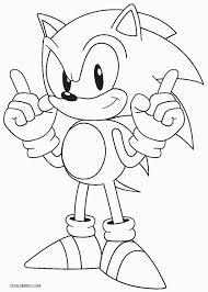 Delve Into The Video Gaming World Of Your Favorite Sonic Hedgehog By Putting Colors On These Free And Unique Coloring Pages Dedicated To Him