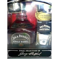 Jack Daniels Single Barrel Whiskey GIFT BOX SET 3