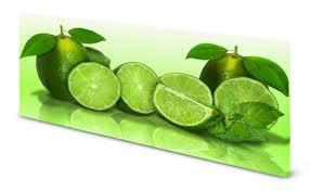 magnettafel pinnwand bild küche limetten grün gekantet ebay