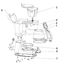 Mr Coffee ESX33 Parts List And Diagram EReplacementParts
