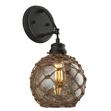 troy lighting outer banks 1 light shipyard bronze wall sconce