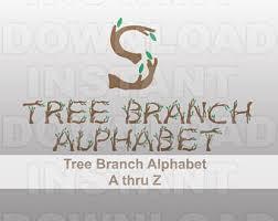 Rustic Font SVG FileRustic Alphabet SvgRustic Monogram Letters Svg Vector Art