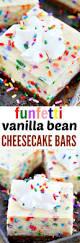 Marbled Pumpkin Cheesecake Bars by Funfetti Vanilla Bean Cheesecake Bars Recipe