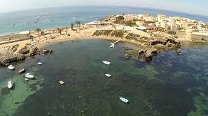 Puesta De Sol Paisaje De Barcos De Pesca Artesanal En El Viejo