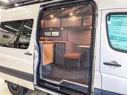 TouRig Sprinter Van Screened Door