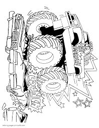 Coloring Book And Pages ~ Monster Truck Coloring Pages Grave Digger ... Grave Digger Monster Truck Coloring Pages At Getcoloringscom Free Printable Luxury Book And Pages Outstanding Color Trucks Bulldozer Tru 250 Unknown Batman 4425 Just Arrived Pictures Bigfoot Page Iron Man Cool Games 155 Refrence Fresh New Bookmarks For