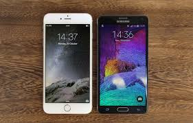 The right one Apple iPhone 6 Plus vs Samsung Galaxy Note 4
