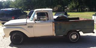 100 1965 Ford Truck For Sale FORD F100 SHORT BED PARTIALLY RESTORED 390 V8 WITH 4 SPEED
