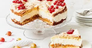 stachelbeer baiser torte einfache schritt für schritt anleitung