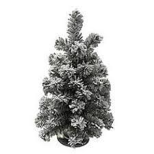 Kmart Christmas Tree Skirt by 7 U0027 Colorado Flocked Pine Christmas Tree U2014kmart Christmas
