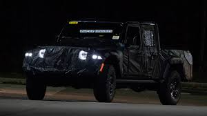 CAUGHT: 2020 Jeep Gladiator (JT) Night Testing: - Mopar Insiders 2019 Jeep Wrangler Pickup Designed For Pleasure And Adventure Youtube Jt Truck Testing On Public Roads Shows Spare Tire Mount Reviews Price Photos Unwrapping The News Ledge Scrambler Interior 2018 With Pictures Car The New Is Called And It Has Actiontruck Jk Cversion Kit Teraflex Overview Auto Trend Youtube Diesel