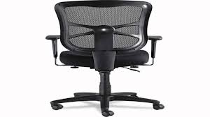 Alera Mesh Office Chairs by Alera Elusion Series Mesh Mid Back Swiveltilt Chair Black Youtube