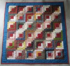 Moore Patchwork & Quilting Log Cabin Quilt
