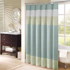 Checkered Flag Window Curtains by Brown And Cream Striped Shower Curtain Shower Curtain