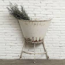 Its Rusticits Seaside Open Bar At A Wedding Use Your Imagination Or Well Loan You Ours Says PJ This Rustic Half Wall Standing Planter Is