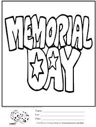 Memorial Day Coloring Pages Free Download Printable With Nice Photograph Collection Of