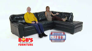 Bobs Furniture Sofa Bed by Bob U0027s Discount Furniture Mercury Sectional Youtube
