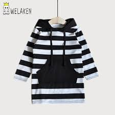 popular girls long hoodie dress for children buy cheap girls long