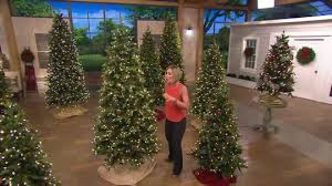 Qvc Christmas Tree Storage Bag by Bethlehem Lights 6 5 U0027 Noble Spruce Christmas Tree W Instant Power