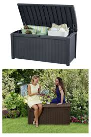 Suncast 50 Gallon Deck Boxstorage Bench by 80 Best Deck Box Storage Ideas Images On Pinterest Deck Box